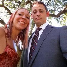me & steve lauren's wedding