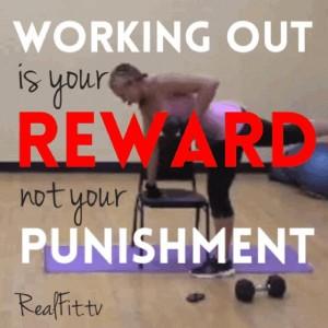 WorkingOutIsYourReward