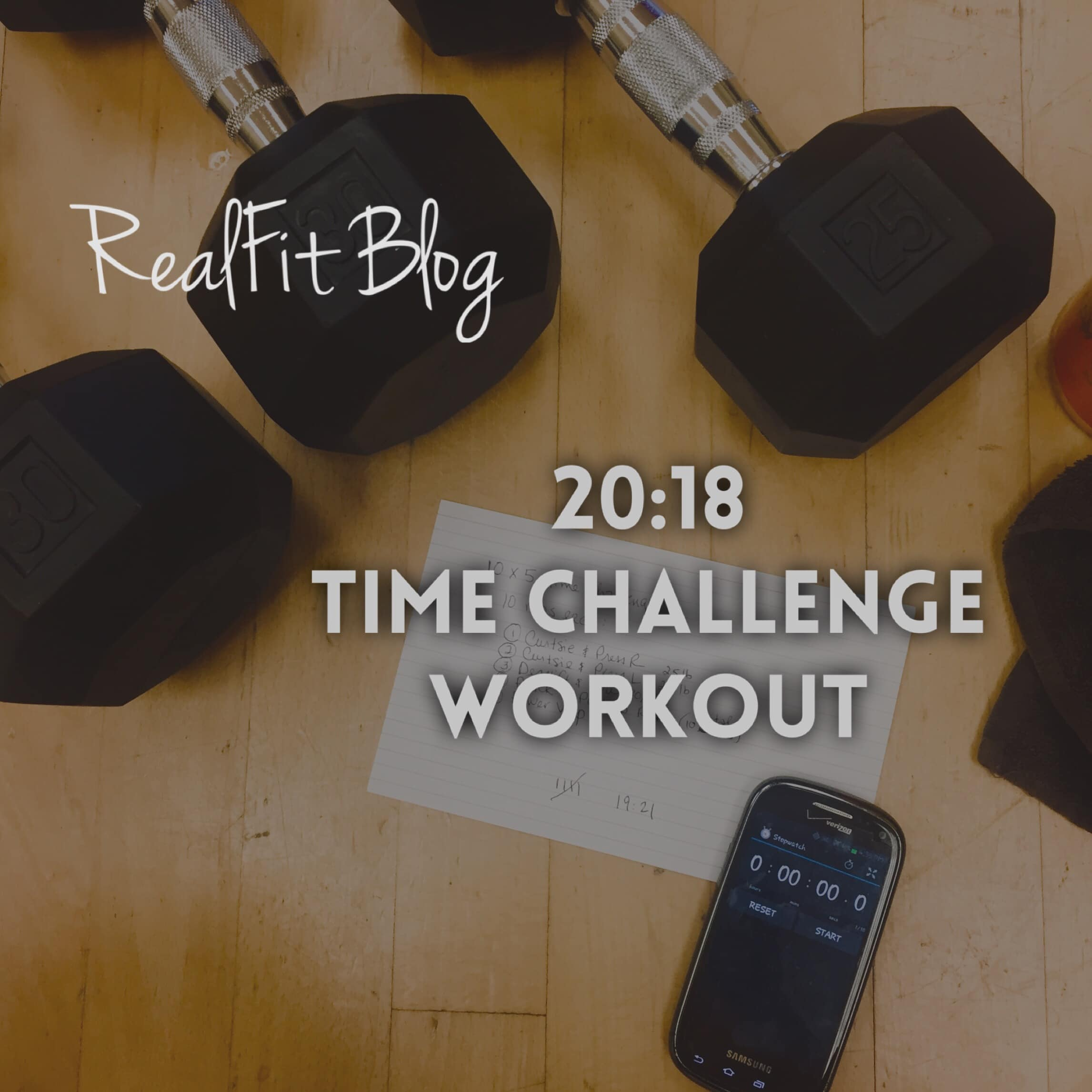 20:18 New Year's Time Challenge Workout